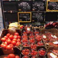 ポーランドの食料品物価 トマト