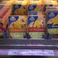 ポーランドの食料品物価 チーズ