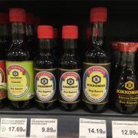 ポーランドの食料品物価 醤油