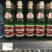 ポーランドの食料品物価 ミネラルウォーター