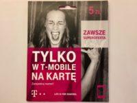 ポーランドのSIMカード T-mobile
