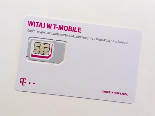 ポーランドT-mobile SIMカード