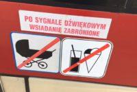 ポーランドのトラム アイスクリーム禁止