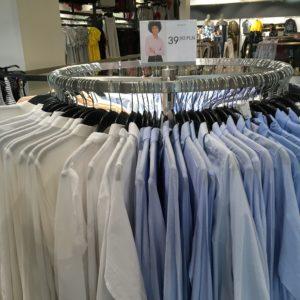 ポーランド衣料品の物価 Yシャツ