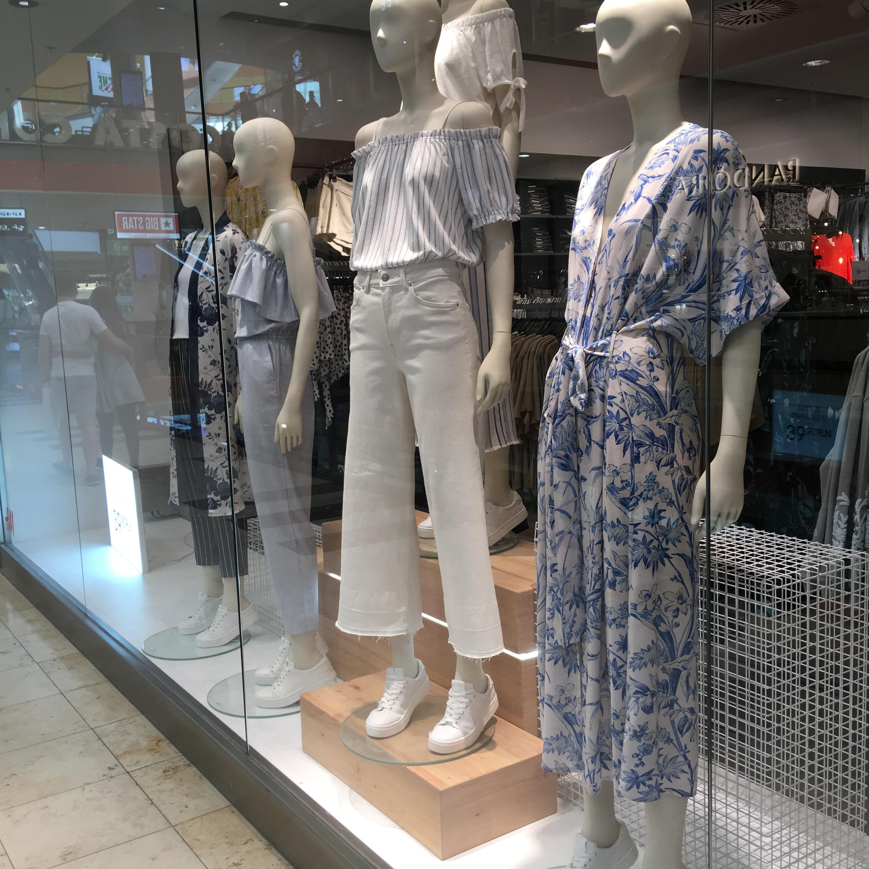 ポーランド衣料品の物価調査