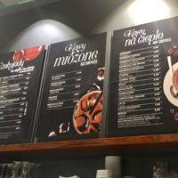 ポーランドで人気のチョコレート専門店 カルメロカフェメニュー価格