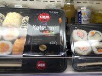 ポーランドのコンビニで売っているお寿司