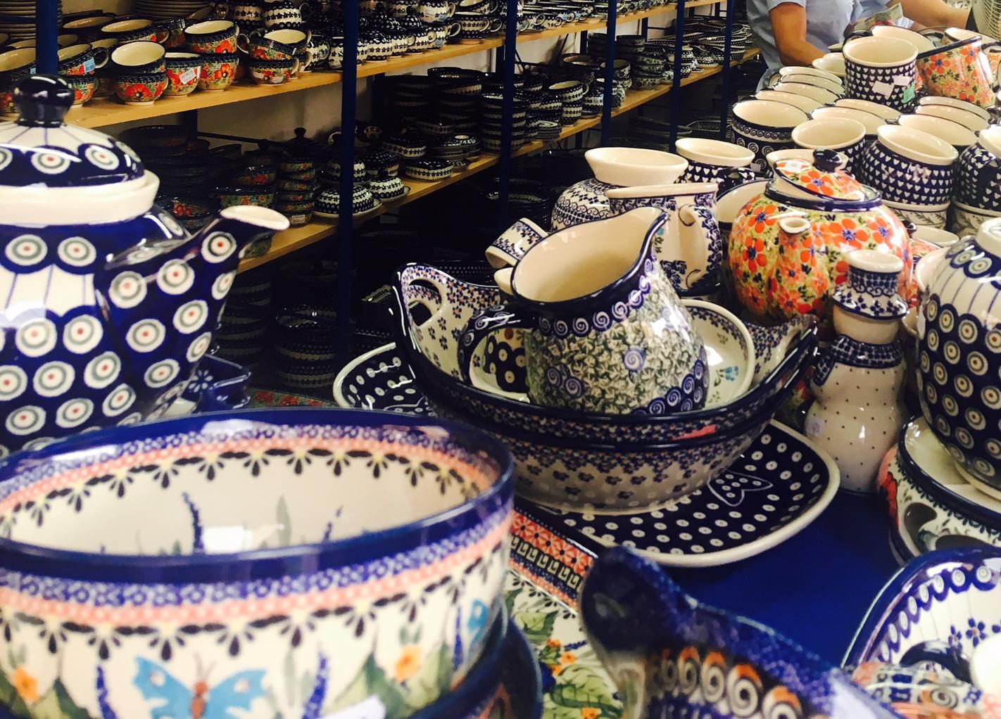 ポーリッシュポタリー ポーランド陶器祭り