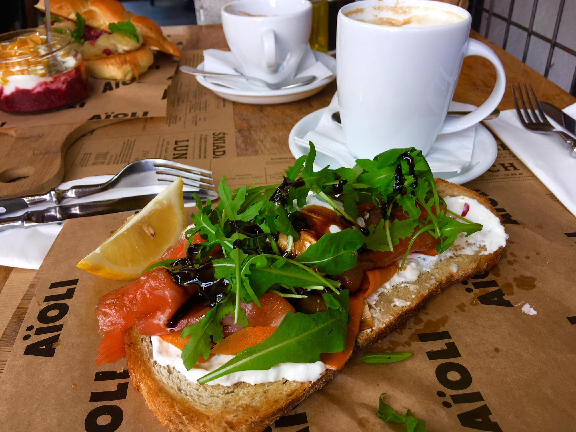 ポーランドのおすすめカフェ朝食