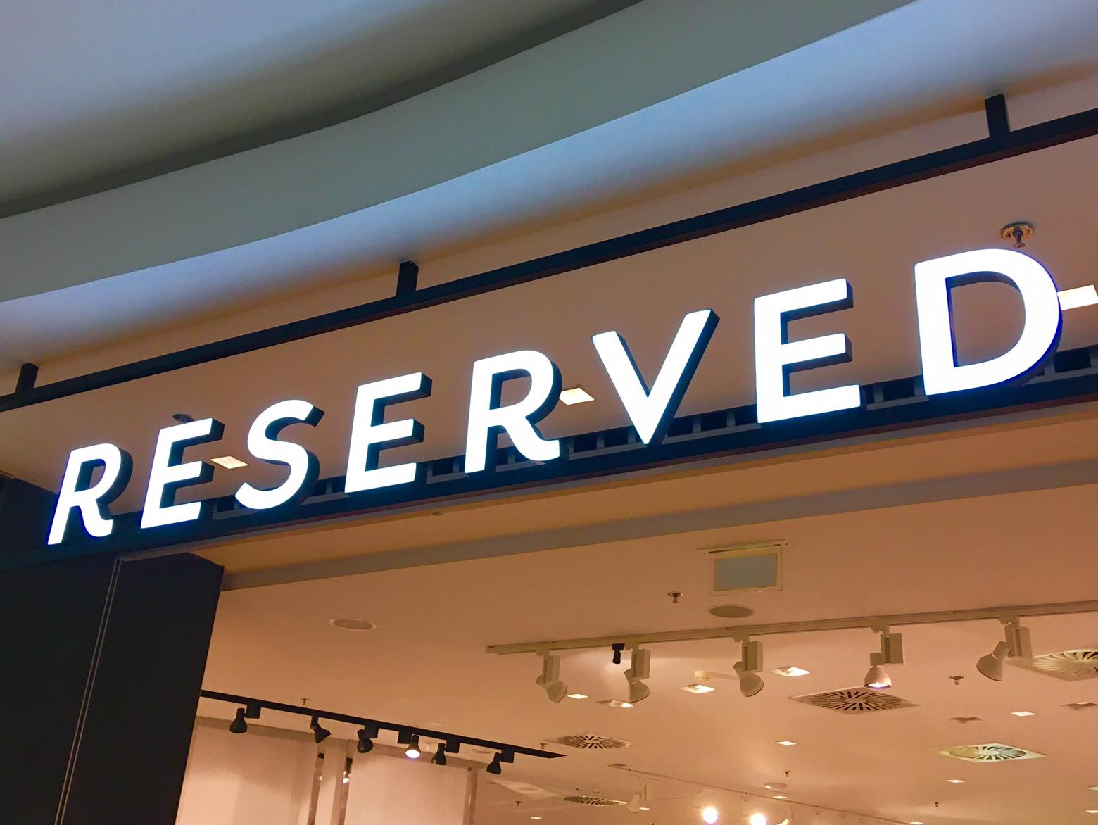 ポーランドで人気のファッションブランド reserved