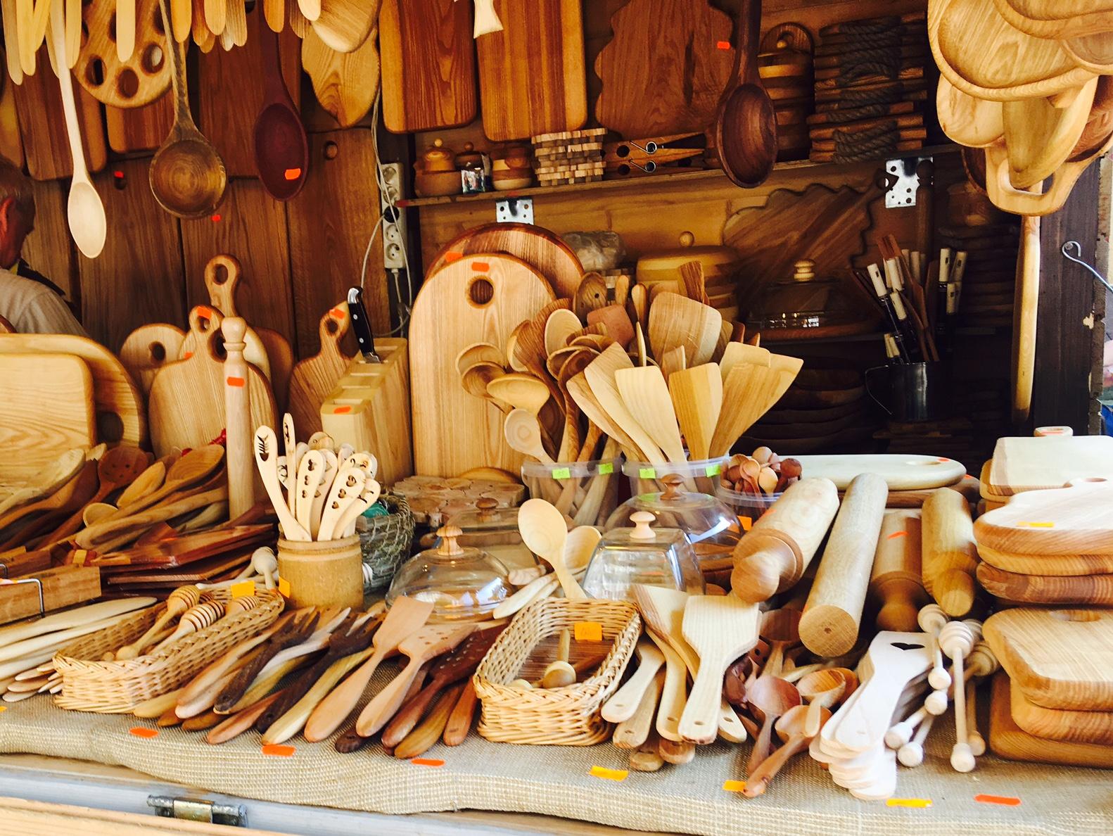 グダニスク聖ドミニコ市の出店