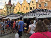 ボレスワビエツ ポーランド陶器祭りの様子