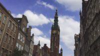 ポーランドグダニスクの展望台 市庁舎