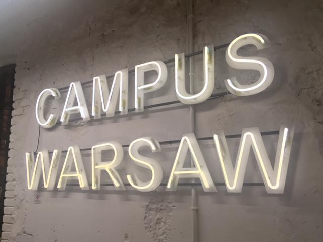 グーグルキャンパス ワルシャワ