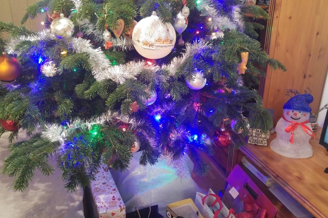 ポーランドのクリスマスツリー