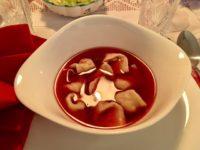 ポーランドのクリスマスディナー バルシチ