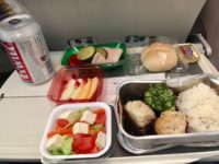 ポーランド航空機内食 テリヤキチキン