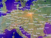 ポーランド航空 就航都市地図