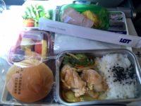 ポーランド航空機内食 チキンソテー
