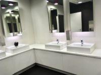 ポーランドワルシャワ空港のトイレ