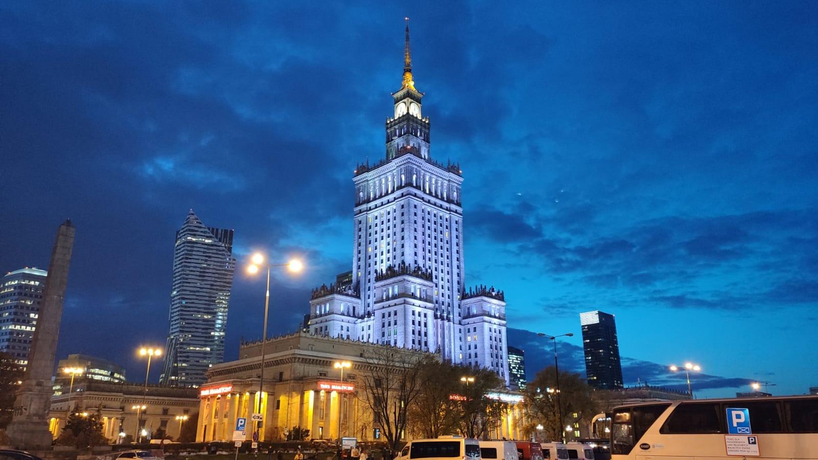 ポーランドの高層ビル